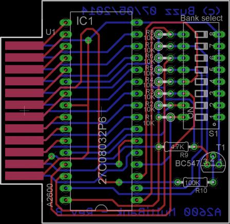 256-in-1 : 256 games cartridge for Atari 2600/7800